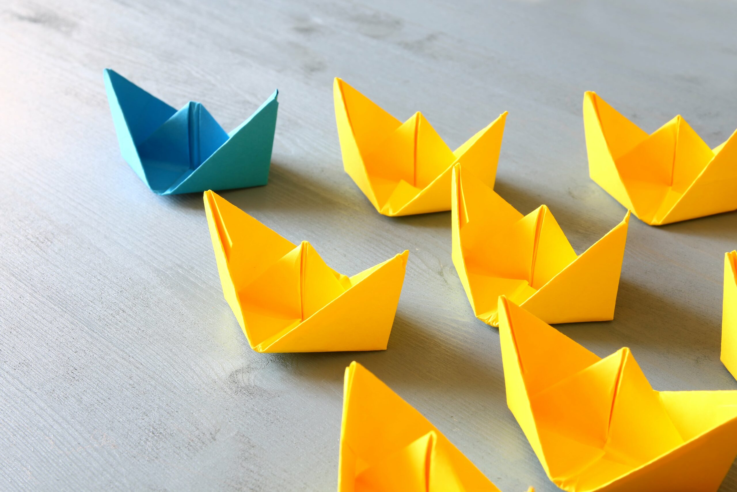 Beautiful Paper Boats - Mind Center for Special Needs